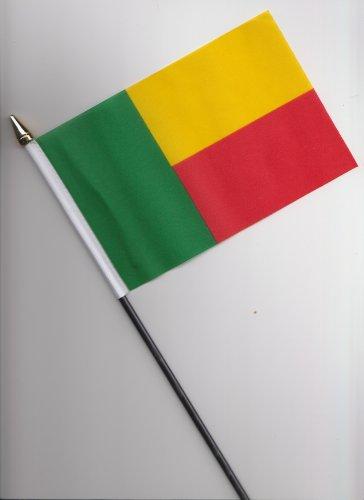 Benin-Flagge, 25 cm