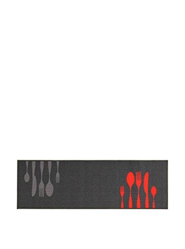 ABC Tappeto La Cucina Dinner Grey 57 x 200 cm