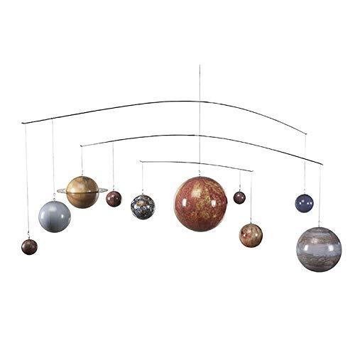 Authentic Models | Sonnensystem Modell | GL061 | Planeten Mobile | Planetensystem | Weltraum Deko