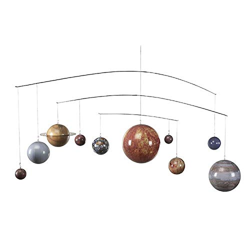 Authentic Models, Solar System, Baby Crib Mobile - Multicolored