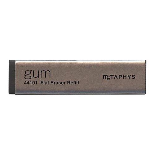 薄型消しゴム GUM/ガム リフィル【ブラック】 44101RBK