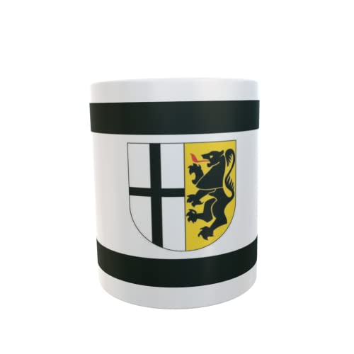U24 Tasse Kaffeebecher Mug Cup Flagge Rhein-Neuss-Kreis