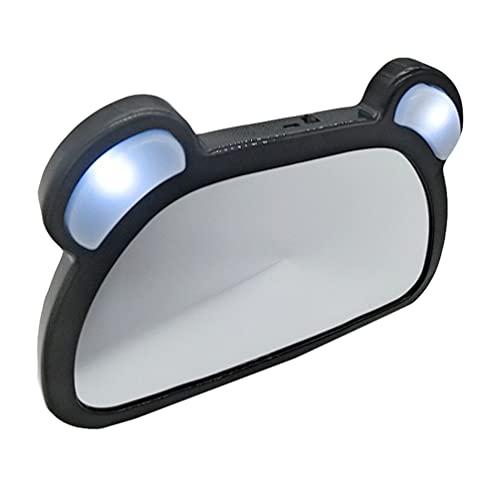 VICASKY Bébé De Voiture Miroir Arrière Vue Bébé De Voiture Siège Arrière Miroir Incassable Clair Large Vision Enfant Miroir D' observation avec Led Lumière pour La Surveillance de Votre