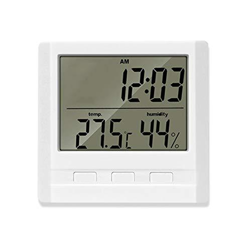 JIN GUI Digitales Hygrometer, elektronisches Präzisions-Temperatur- und Feuchtigkeitsmessgerät mit Jumbo-Touchscreen und Hintergrundbeleuchtung für Innen- und Außenbereiche