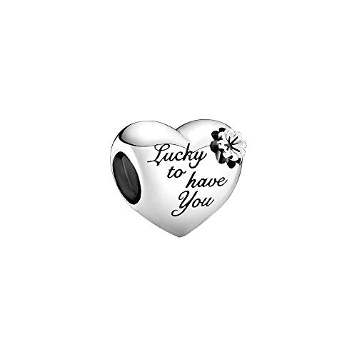 Pandora Heart & Clover Charm