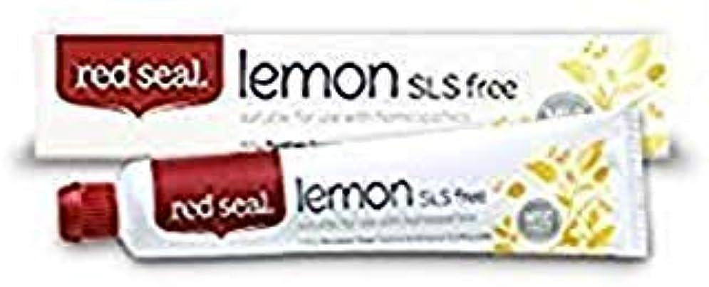 スペード認める怒るRed Seal Natural Lemon SLS Free Toothpaste That's Mint-free by Red Seal