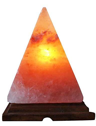 Klass Home Collection Pyramid Shaped Himalayan Natural Therapeutic Ionising Crystal Rock Salt...