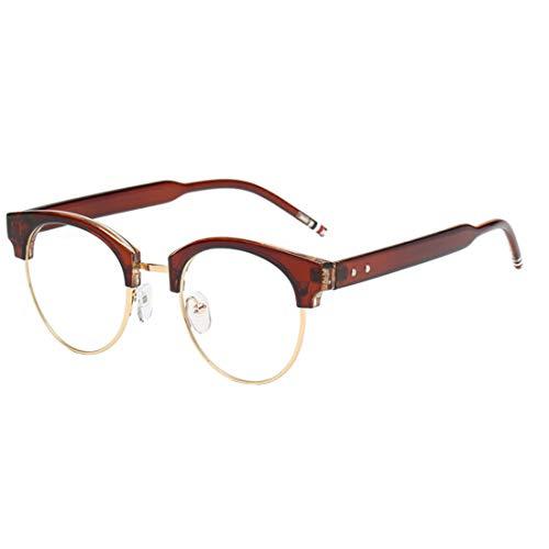 Inlefen Blaulicht Blockierung Vintage Klare Linse Reader Computer Brille Männer/Frauen Anti-Müdigkeit