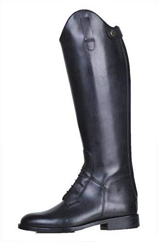 HKM Reitstiefel -Spain-, Softleder, kurz/weit, schwarz, 39