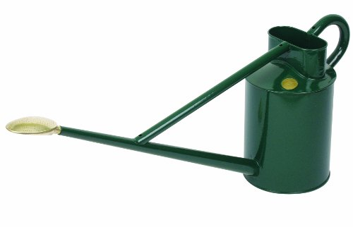 "HAWS Giesskanne Modell ""Long Reach\"" 8,8 Liter grün (British Racing Green)"