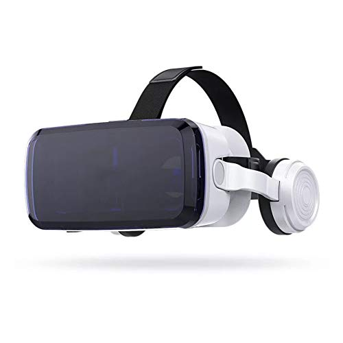 VR Headset for iPhone & Android Phone - Universal Virtual Reality Goggles - Play Your Best Mobile Games 360 Movies With Soft & Comfortable New 3D VR Glasses - G04BS