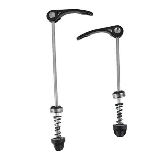 EXCEART Schnellspanner-Spieß-Set für Rennrad, Mountainbike, MTB (schwarz)