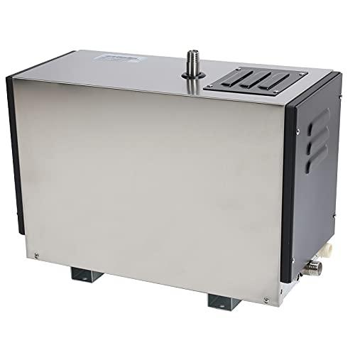 Generador De Vapor, Diseño De Alta Potencia IPX4 Clasificación Impermeable 9KW 380~415V Generador De Baño De Tanque De Agua De Acero Inoxidable 304 Para El Hogar