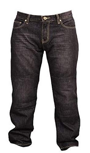 SGI-BIKE Herren Dupont/™ Kevlar/® Motorrad Jeans Hose Motorradjeans mit 4X Protektoren Blau