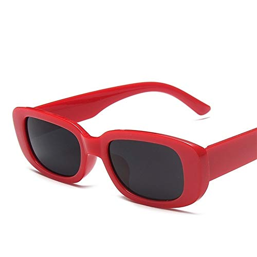 DingHome Classic Retro Square Gafas de Sol Mujer Marca Vendimia Viaje Pequeño Rectángulo Gafas de Sol para Mujer Lunette de Soleil (Color : A1)