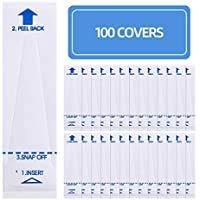 FILWO 100 Stück Thermometer Schutzhüllen Schutzkappen Hülle für Thermometer ideal für Kinder und Baby Fieberthermometer