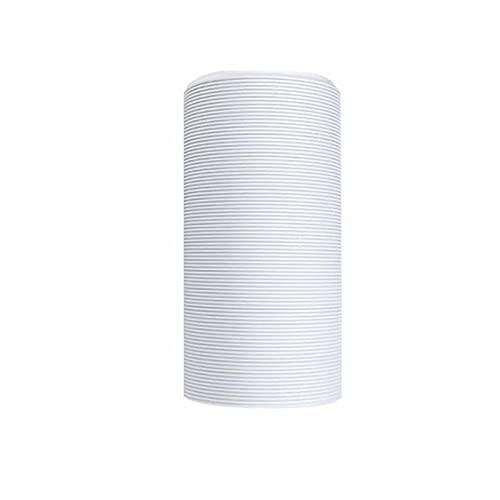 Tubo di scarico PVC flessibile, diametro 130/150 mm, 1,5 m / 2m / 3m per condizionatori d'aria, asciugatrice, cappuccio di ventilazione 150MM-3M