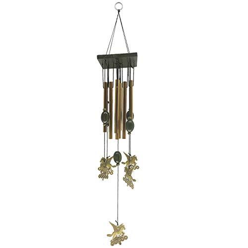 YL-adorn art windspel, tuin en indoor windspel met natuurlijke ontspannende tinten, 8 aluminium buis paard windspel, voor decoratie Kerstmis geschenken