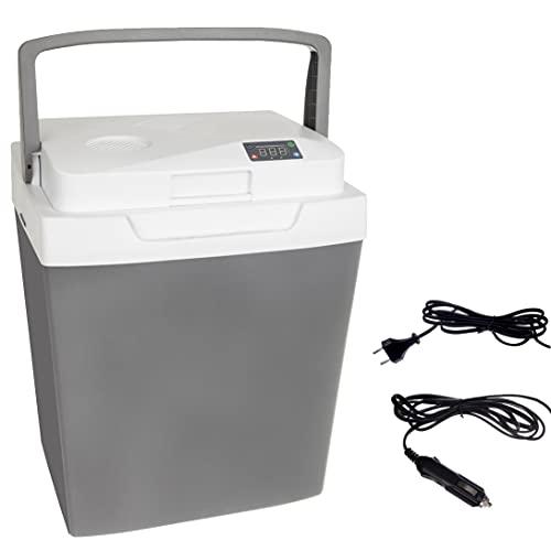 MT MALATEC Borsa frigo 12 V 220 V Funzione di raffreddamento e mantenimento in caldo ECOMode 12331, dimensioni: 33 l