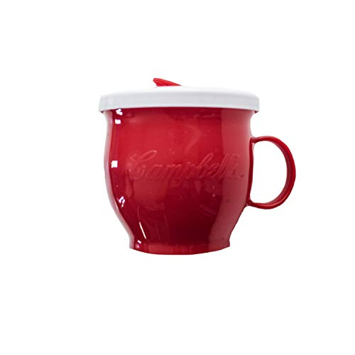 Evriholder Campbell's Micro Microwave Mug, One Size, Red