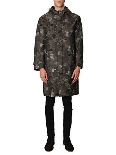 Mackintosh Luxury Fashion Herren GMH003DC01 Grün Polyamid Mantel | Jahreszeit Outlet