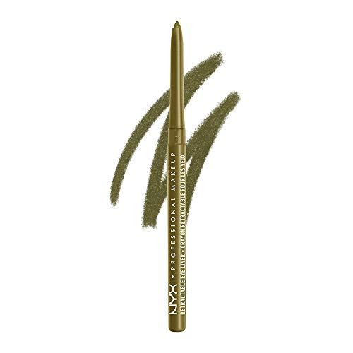NYX PROFESSIONAL MAKEUP Mechanical Eyeliner Pencil, Golden Olive
