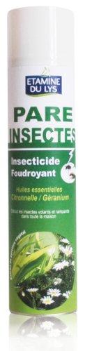 Etamine Du Lys Pareinsectes Insecticide Foudroyant Citronnelle 400 ml