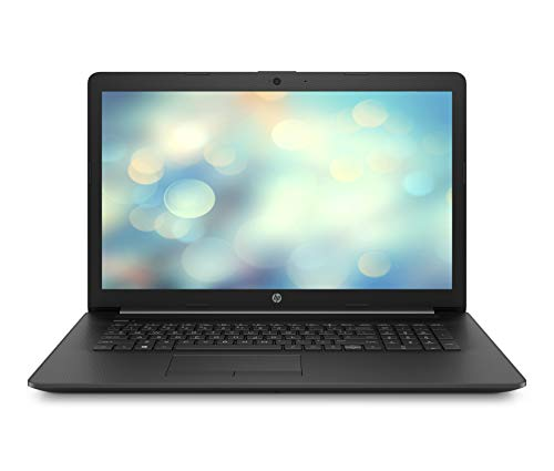 HP 17-by0018ng (17,3 Zoll / HD+) Laptop (Intel Celeron N4000, 8GB DDR3L RAM, 256GB SSD, Intel UHD Grafik 600, Windows 10 Home) schwarz