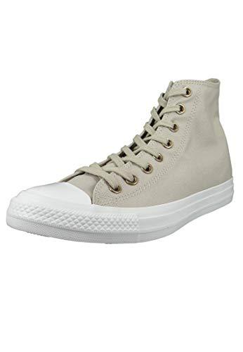 Converse Chuck Taylor All Star Hearts Canvas HI - Zapatillas altas para mujer, color gris, color Gris, talla 36.5 EU