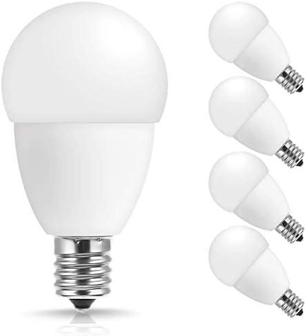 JandCase E17 Led Bulb 5W 50W Equivalent G14 Light Bulbs Daylight White 5000K 550lm E17 Intermediate product image