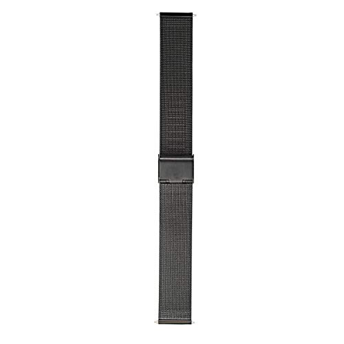 Morellato Correa de Reloj Unisex, Colección Easy Click, Mod. ESTIA, de Malla milanesa de Acero - A02X0549591