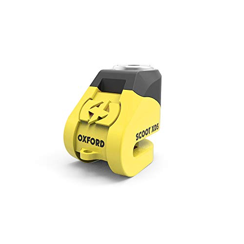 Motorcycle Oxford Scoot XD5Disc Lock Yellow
