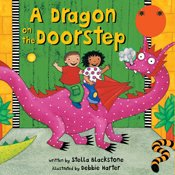 Dragon on the Doorstep audiobook cover art