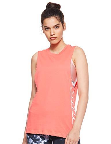 Nike Tank Dfc Splash, Canotta Donna, Ember Glow, S