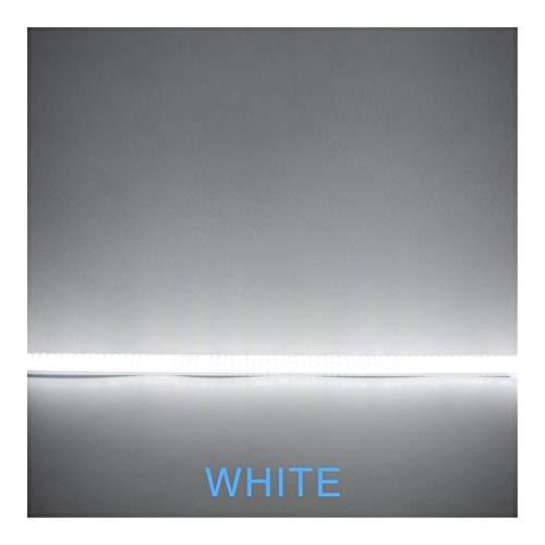 Luz de techo LED LED Kitche Barra de luz LED 7W 30cm 50cm caliente Claro Shell Shell Vía Blanco Blanco Blanco Blanco Día 220V for la cocina Iluminación W ZHAOMIHU (Color : White)