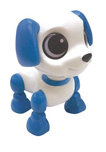 LEXIBOOK Power Puppy Mini-Mi pequeño Perro Robot con Sonidos, música, Efectos de luz, repetición de Voz y reacción a los sonidos-ROB02DOG (ROB02DOG)