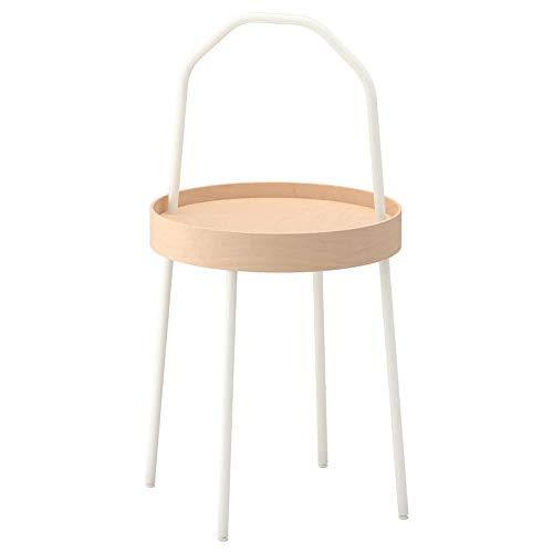 IKEA ASIA BURVIK stolik pomocniczy biały