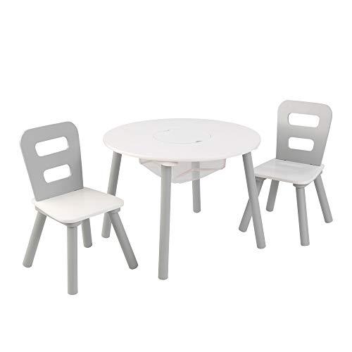 KidKraft Wooden Round Table & 2 ...