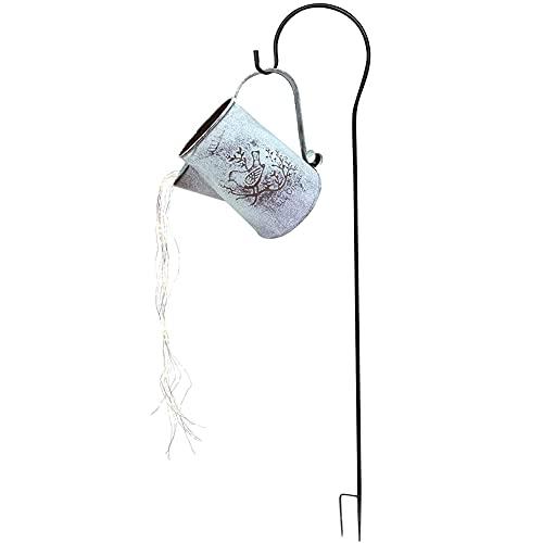 PDXGZ Watering Can Lights, Starry Fairy Night Light, Star Shower Garden Art Light Decoration Led Lamp, for Yard, Bedroom, Christmas, Parties Garden Decor