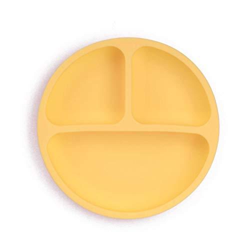 N-B Vajilla para niños, Cuenco de Ventosa de Silicona para bebé, Sistema de vajilla de Cara Sonriente para bebé