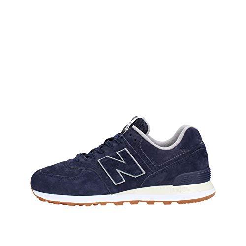New Balance Herren 574v2 Sneaker, Blau (Pigment Epa), 41.5 EU