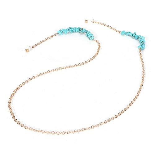 Cordón de anteojos hermoso y de moda Piedra natural de moda, una gran opción como regalo, una gran decoración