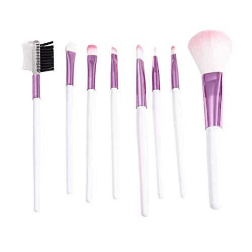 Facile à utiliser Lettre haut grade et de mode pack rose maquillage brosse de beauté Outils facile à transporter souple Soies