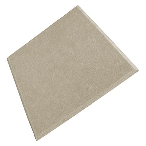 Regalo Exquisito Paneles absorbentes de sonido engrosados, fibra de poliéster del panel de absorción acústica para sala de juegos para estudios de grabación(marrón)