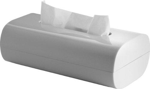 Alessi Aleesi PL07 W Birillo Tissue Box, White