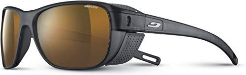 Julbo Camino Sonnenbrille Unisex Erwachsene, schwarz transparent matt / grau, FR: L (Größe Hersteller: L)