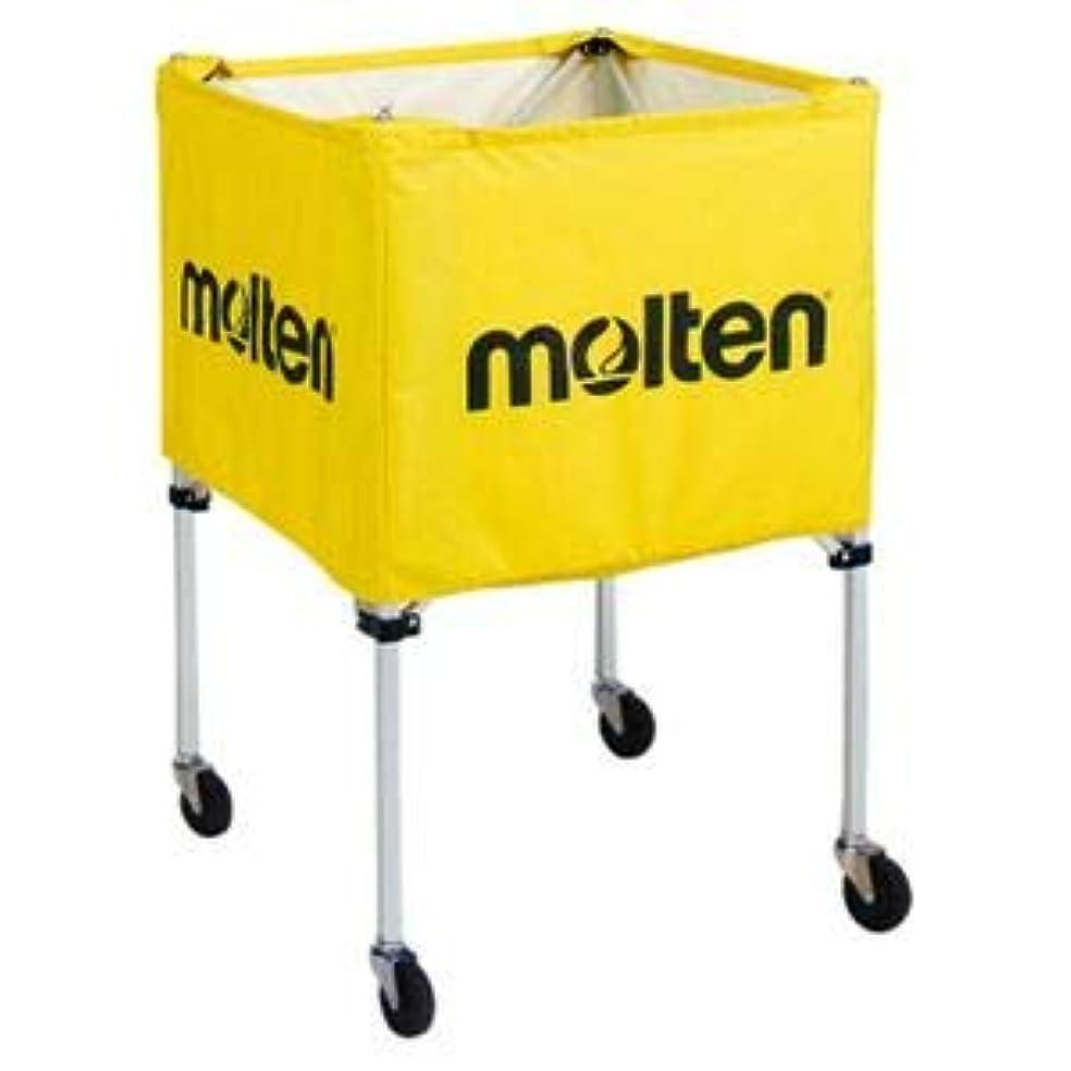 理由規範こんにちはモルテン(Molten) 折りたたみ式ボールカゴ(屋外用) 黄 BK20HOTY