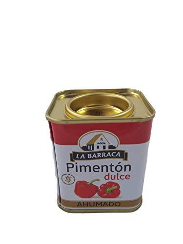 Paprika Spagnola Naturale al 100% di Qualità in oro in Scatola (Paprika Affumicata Dolce, 75 gr)