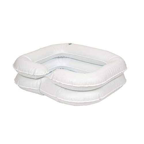 Ableware 764302000 Easy Shampoo Basin, White by Maddak