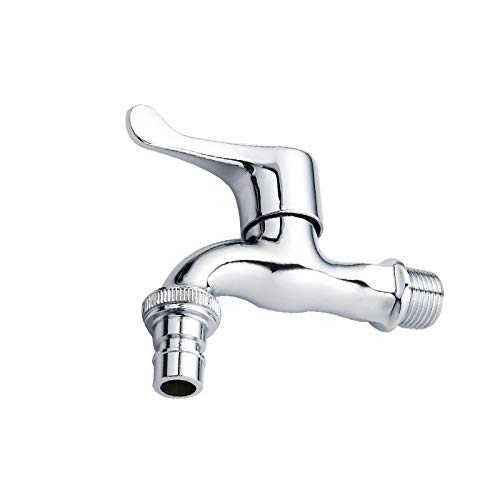 Electroplating alloy spout   washing machine mop pool faucet   ceramic valve core cold water faucet